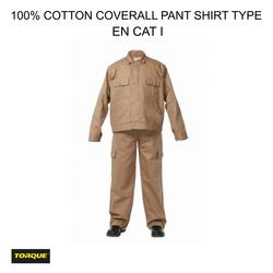 Cotton Pant Shirt Coverall in Dubai
