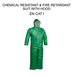 Chemical Resistant Flame Retardant Suit from ORIENT GENERAL TRADING