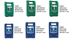 Alpha Range of first Aid Kit - ( British Standard) from ARASCA MEDICAL EQUIPMENT TRADING LLC