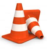 Traffic Cones in Dubai