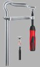 BESSEY_All-steel screw clamps OMEGA bend_GMZ with handle from VERACITY WORLD