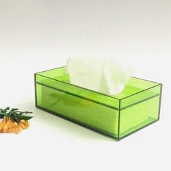 ACRYLIC TISSUE DISPENSER