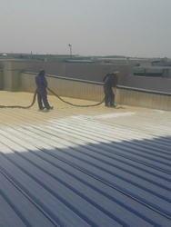 FOAM WATERPROOFING UAE  from WHITE METAL CONTRACTING LLC