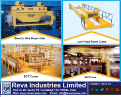 CRANES AND HOIST SYSTEMS from REVA INDUSTRIES LTD