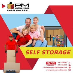 Storage services in dubai palm jumeriah from PM MOVERS AND PACKAGING L.L.C.