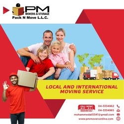 Shipping services in jumeriah village from PM MOVERS AND PACKAGING L.L.C.