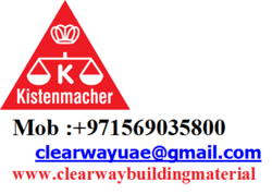 KISTENMACHER PRODUCTS DEALER IN MUSSAFAH , ABUDHABI , UAE from Clear