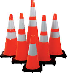 Traffic Cones Supplier in Dubai - UAE from AZIRA INTERNATIONAL
