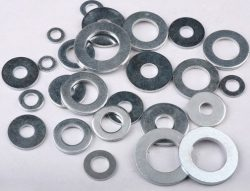 Flat washers from AHMED AL ZAABI STEEL FABRICATION L.L.C