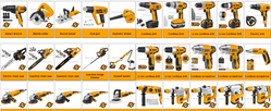 Power tools suppliers in Qatar from AERODYNAMIC TRADING CONTRACTING & SERVICES , QATAR