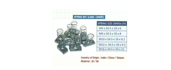 Short Spring Nut suppliers in Qatar from MEP SOLUTION PROVIDER IN QATAR