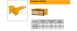 Forstner drill bit suppliers in Qatar from NINE INTERNATIONAL WLL