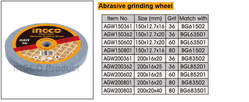Abrasive grinding wheel suppliers in Qatar from NINE INTERNATIONAL WLL