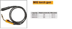 MIG torch gun suppliers in Qatar from NINE INTERNATIONAL WLL