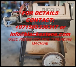 Used RIDGID 1224 Pipe Threading Machine