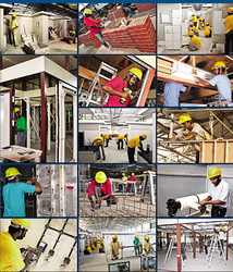 construction workers from HYTECH GOODWILL HR SERVICES LLC