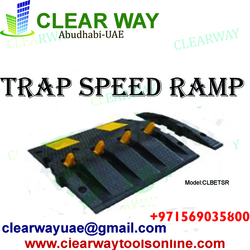 TRAP SPEED RAMP DEALER IN MUSSAFAH , ABUDHABI , UAE from CLEAR WAY BUILDING MATERIALS TRADING