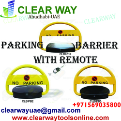 PARKING BARRIER WITH REMOTE DEALER IN MUSSAFAH , ABUDHABI , UAE from CLEAR WAY BUILDING MATERIALS TRADING