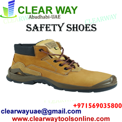 SAFETY SHOES DEALER IN MUSSAFAH , ABUDHABI , UAE from CLEAR WAY BUILDING MATERIALS TRADING