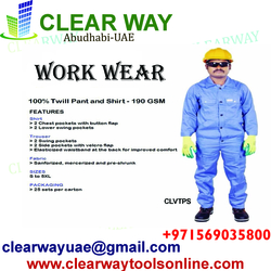 Work Shirt Pant - Manufacturers, Dealers, Suppliers in Gulf, UAE