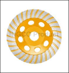 Segmented Turbo Cup Gringing Wheel suppliers in Qatar from AERODYNAMIC TRADING CONTRACTING & SERVICES , QATAR / TELE : 33190803 / SARATH@AERODYNAMIC.QA