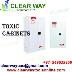 TOXIC CABINETS DEALER IN MUSSAFAH , ABUDHABI ,UAAE from CLEAR WAY BUILDING MATERIALS TRADING