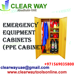 EMERGENCY EQUIPMENT CABINET DEALER IN MUSSAFAH , ABUDHABI , UAE from CLEAR WAY BUILDING MATERIALS TRADING
