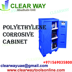 POLYETHYLENE CORROSIVE CABINET DEALER IN MUSSAFAH , ABUDHABI ,UAE from CLEAR WAY BUILDING MATERIALS TRADING
