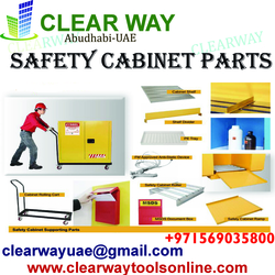 SAFETY CABINET PARTS DEALER IN MUSSAFAH , ABUDHABI ,UAE from CLEAR WAY BUILDING MATERIALS TRADING