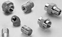 Forged Threaded Pipe Fittings from AMARDEEP STEEL CENTER