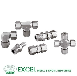 TUBE FITTINGS from EXCEL METAL & ENGG. INDUSTRIES