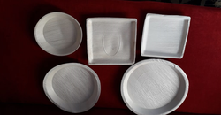 Eco Friendly Disposable Plates from AERODYNAMIC TRADING CONTRACTING & SERVICES , QATAR