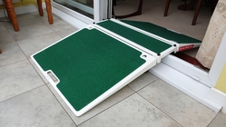 Folding Double Sided Threshold Ramp