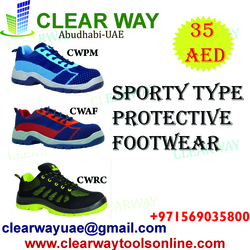 SPORTY TYPE PROTECTIVE FOOT WEAR DEALER IN MUSSAFAH , ABUDHABI , UAE