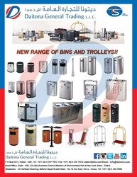 NEW RANGE HS BINS AND TROLLEYS