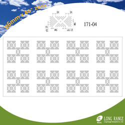 Perforated Zest Series Gypsum board #171-04 from LONG RANGE ENTERPRISE CO., LTD.