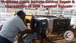 Crane Remote Controls Supply, Repair, Upgrade & Services in Bahrain