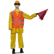 ROAD WARNING ROBOT from EXCEL TRADING COMPANY L L C