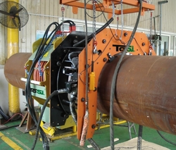 Sand Blasting Equipment for Pipeline from GLOBTECH LEADING ENTERPRISES