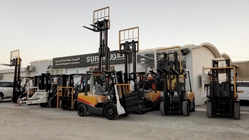 Japanese Isuzu engine forklift from SUR GLOBAL TRADING