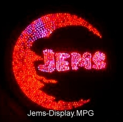 JEMS Solar Sign Board