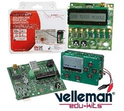Velleman electronic suppliers in Qatar from AERODYNAMIC TRADING CONTRACTING & SERVICES , QATAR / TELE : 33190803 / SARATH@AERODYNAMIC.QA