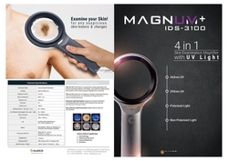 UV Magnifier with Wood