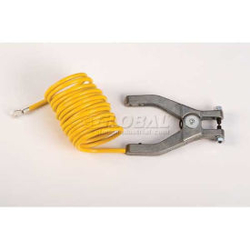 Coil Insulated Antistatic Wire Hand Clamp with Terminal JUSTRITE from WESTERN CORPORATION LIMITED FZE