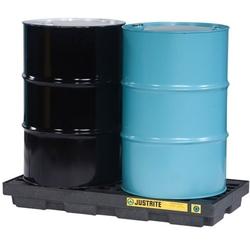 2 Drums spill control pallet