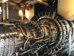 25 MW LM2500 SAC Gas Turbine