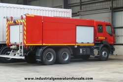 RENAULT 6x4 Fire Truck New Surplus