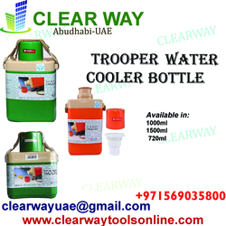 TROOPER WATER COOLER BOTTLE DEALER IN MUSSAFAH , ABUDHABI ,UAE from CLEAR WAY BUILDING MATERIALS TRADING
