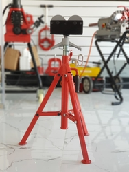 """Roller head pipe stand –12"""" pipe from AL MUHARIK ALASWAD W.SHOP EQUIP. TR"""