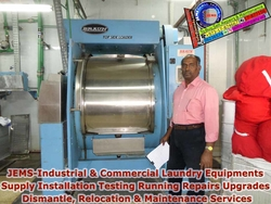 Laundry Equipment Supply, Repairs, Maintenance, Erection & Commissioning, New Control System Retrofits & Recondition.
